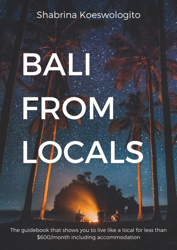 Bali From Locals Ebook cover